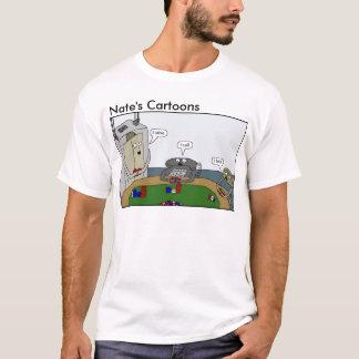 Nates skjorta för tecknadpoker tröja