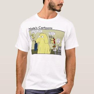 Nates skjorta för tecknadtofflor tee shirt