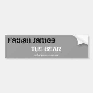 Nathan James, björnen, riklig Sti…, - Skräddarsy Bildekal