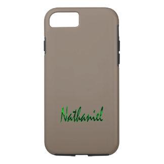 Nathaniel skräddarsy den tuffa iphone case