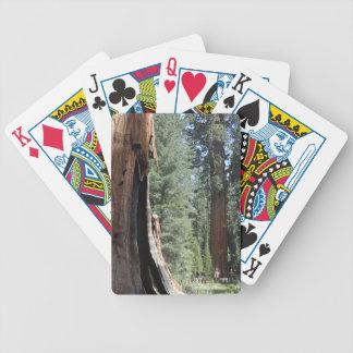 Nationalpark för General Sherman Träd Sequoia Spelkort