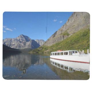 Nationalpark för sjöJosephine- glaciär Anteckningsbok