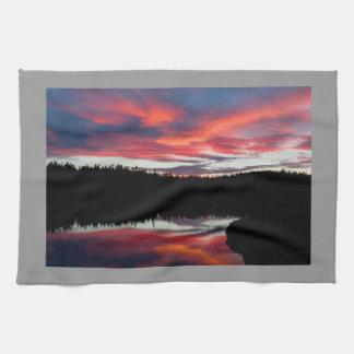 Nationalpark för solnedgång- och SeawalldammAcadia Handhandukar