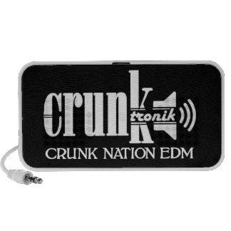 NationEdm för högtalare CRUNK logotyp