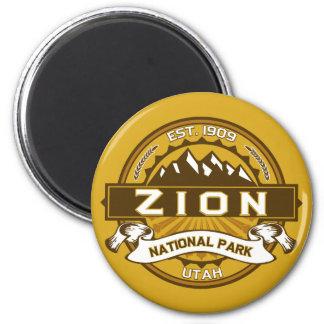 Nationella Zion parkerar Goldenrod Magnet