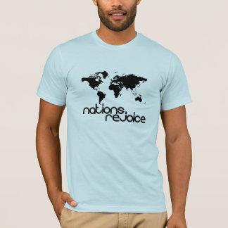Nationer jublar t shirt