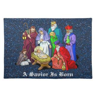 nativity bordstablett
