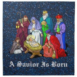 nativity tygservett