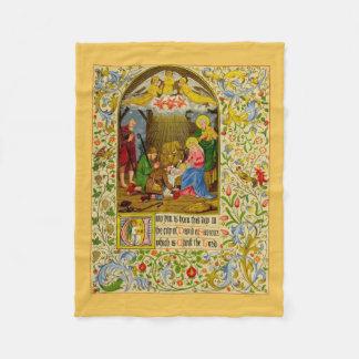 Nativity | Unto dig är född denna dag Fleecefilt