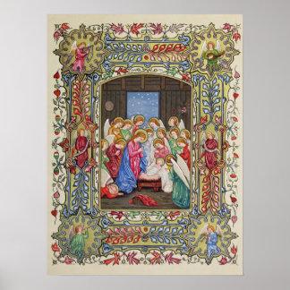 Nativityen av vår Lord Poster