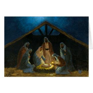 Nativityen Hälsningskort