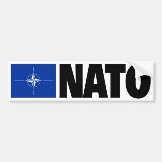 Nato-flagga Bildekal