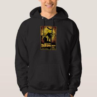 Natt av Zombiegenealogen Sweatshirt Med Luva