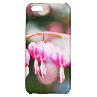 Nätt blöds hjärtor iPhone 5C skydd