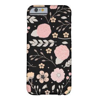 Nätt blom- botanisk iPhone 6, knappt där Barely There iPhone 6 Skal