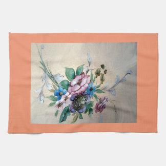 """Nätt """"bukett av blomma Teahandduken Kökshandduk"""