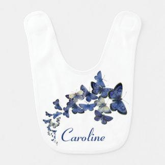 Nätt buktat flyg för blått som fjärilar namnges hakklapp