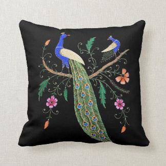 Nätt fåglar och blommor kudde