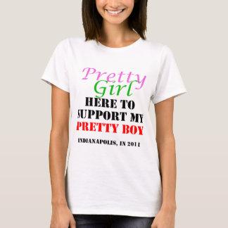Nätt flicka här som stöttar min nätt pojke tröjor