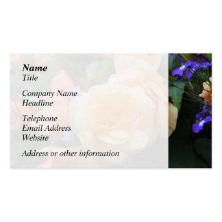 Nätt Flowers. Visitkort Mallar