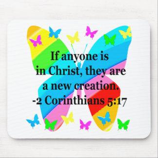 NÄTT FÖR CORINTHIANS5:17 FÖR FJÄRIL 2 DESIGN MUSMATTA