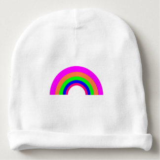 Nätt hatt för spädbarn för regnbågebomullsstöd