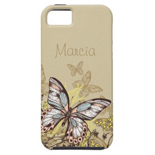 Nätt kakier för fjärilar | iPhone 5 hud
