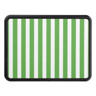 Nätt mönster för rand för cabana för vårlövgrönt skydd för dragkrok