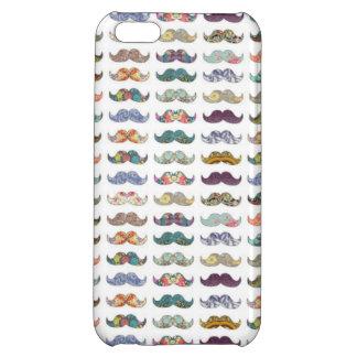 Nätt mustascher iPhone 5C mobil skydd