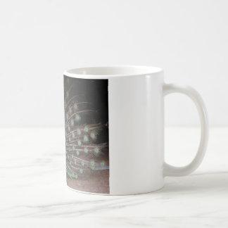 Nätt påfågel kaffemugg