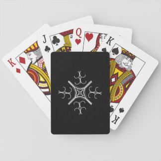 Nätt Pearly klassiker som leker kort Spel Kort