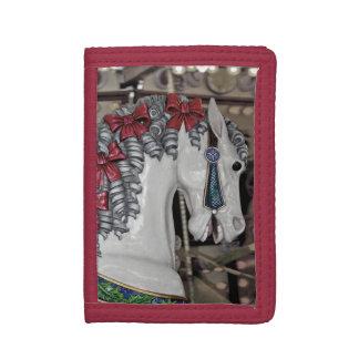 Nätt plånbok för karusellhästtryck