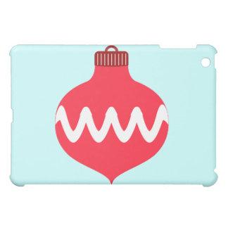 Nätt röd julkula iPad mini skydd