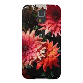 Nätt rosa blom- Samsung S5 mobilt fodral Galaxy S5 Fodral