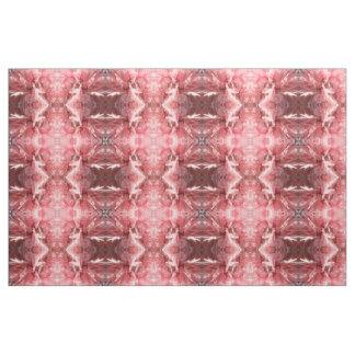 Nätt rosa mönstrat hantverktyg för vallmo blommigt tyg