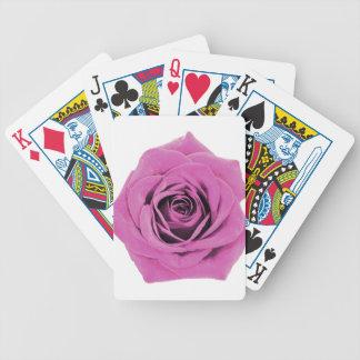 Nätt rosa ros 20171028 spelkort