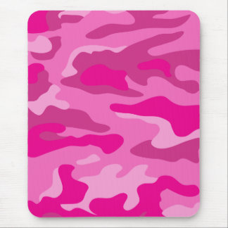 Nätt rosakamouflage mus mattor