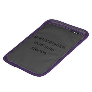 Nätt stilfull ipad sleeve för iPad mini