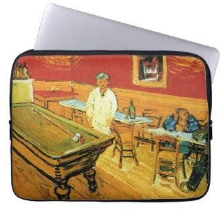 Nattcafen av Vincent Van Gogh Laptop Fodral