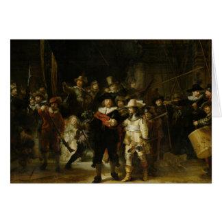 Nattklockan, Rembrandt Van Rijn Hälsningskort