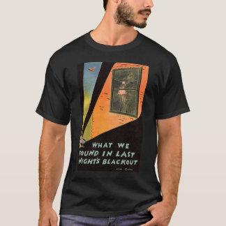 Natts för jumbo ZHR0023 1942 blackout T-shirt