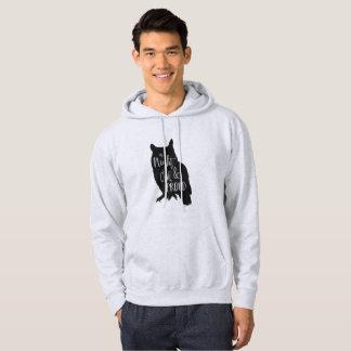 Nattuggla Sweatshirt Med Luva