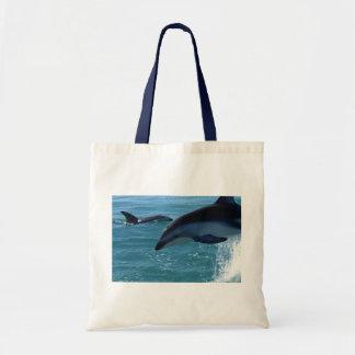 Natur för hav för strand för delfinstänköde kasse