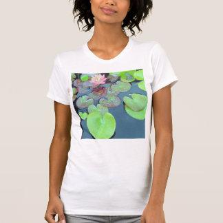 Natur - grodan på en lilja vadderar t shirts