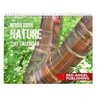 NATUR - indigoblå Roths kalender för 2017