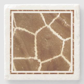 Natur texturerat mönster för tryck för fotogiraff stenunderlägg