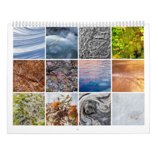 Nature abstrakt kalender
