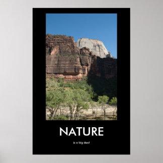 Naturen är en stor överenskommelseDemotivational Poster