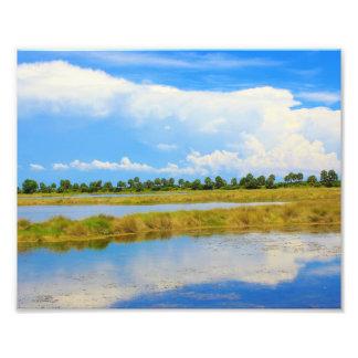 Naturen landskap fototryck