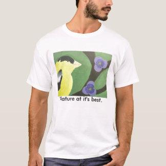 Naturen på den är bäst tee shirts